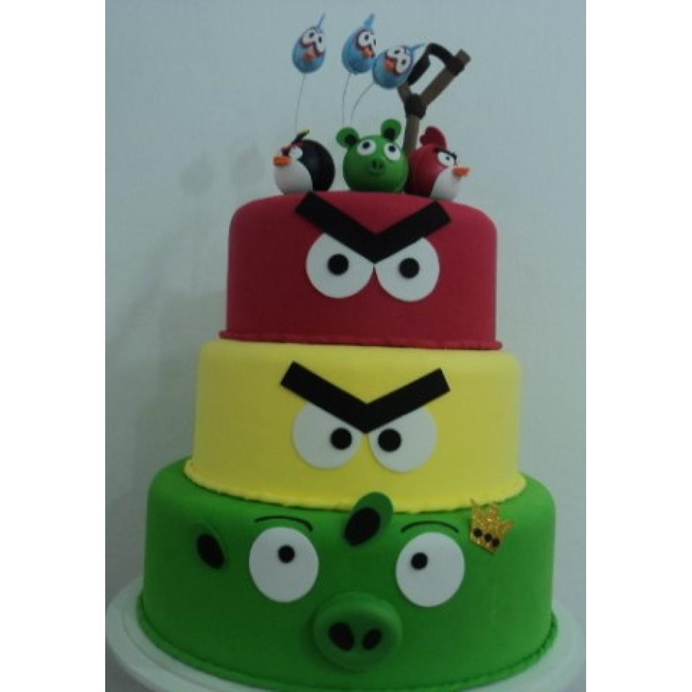 Bolo Angry Birds EVA